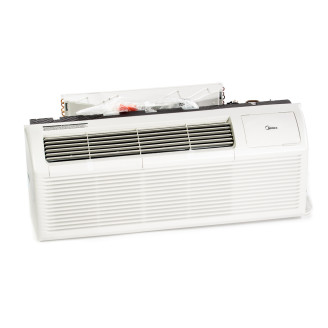 New Midea 7,000 BTU PTAC Air Conditioner - 230 volt - 20 amp - with Digital Controls and Electric Heat
