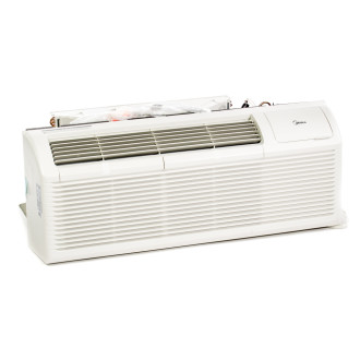 New Midea 15,000 BTU PTAC Air Conditioner - 230 volt - 20 amp - with Digital Controls and Electric Heat