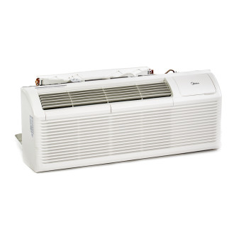 New Midea 62 Series 15,000 BTU PTAC Air Conditioner - 230 volt - 30 amp - with Digital Controls and Heat Pump