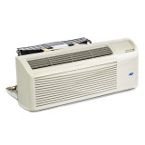 Refurbished Carrier 7,000 BTU PTAC Air Conditioner - 277 volt - amp - with External Thermostat Controls and Electric Heat