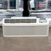 Refurbished A-Grade Amana 9,000 BTU PTAC Air Conditioner -265 volt - 20 amp - with Electronic Control and Heat Pump