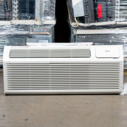 New Midea 9,000 BTU PTAC Air Conditioner - 230 volt - 20 amp - with Digital Controls and Heat Pump