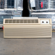 Refurbished A-Grade Amana 9,000 BTU PTAC Air Conditioner - 230 volt - 15 amp - with Knob Control and Heat Pump