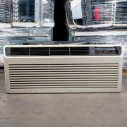 Refurbished A-Grade GE 12,000 BTU PTAC Air Conditioner - 230 volt - 20 amp - with Knob Control and Resistive Electric Heat