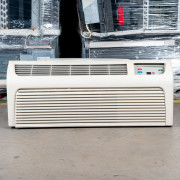 Refurbished A-Grade Amana 9,000 BTU PTAC Air Conditioner - 265 volt - 15 amp - with Electronic Control and Heat Pump