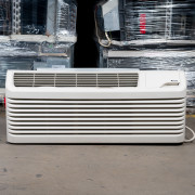 Refurbished Amana B-Grade 9,000 BTU PTAC Air Conditioner - 230 volt - 20 amp - with Heat Pump and Electronic Control