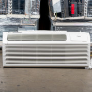 New Midea 15,000 BTU PTAC Air Conditioner - 230 volt - 30 amp - with Digital Controls and Electric Heat