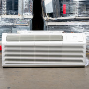 New Midea 15,000 BTU PTAC Air Conditioner - 277 volt - 30 amp - with Digital Controls and Heat Pump