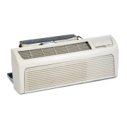 Refurbished B-Grade 9,000 BTU PTAC Air Conditioner with Knob Control and Heat Pump - 265/277 Volts and 20 Amps