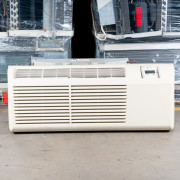 Refurbished A-Grade Trane 9000 BTUH PTAC Air Conditioner - 265 volt - 20 amp - with Electronic Control and Heat Pump