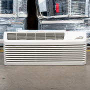 New Amana PTC Series 17,000 BTU PTAC Air Conditioner - 208 volt - 20 amp - with DigiSmart Controls and Electric Heat