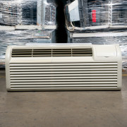 Refurbished A+-Grade GE 9,000 BTU PTAC Air Conditioner - 230 volt - 20 amp - with Electronic Control and Resistive Electric Heat