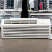 New Midea 82 Series 15,000 BTU PTAC Air Conditioner - 230 volt - 30 amp - with Digital Controls and Heat Pump