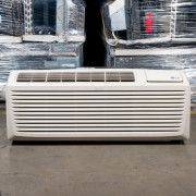 Refurbished A+-Grade LG 7,000 BTU PTAC Air Conditioner - 230 volt - 15 amp - with Knob Control and Resistive Electric Heat