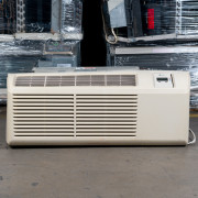 Refurbished A-Grade Midea 9,000 BTU PTAC Air Conditioner - 230 volt - 20 amp - with Electronic Control and Resistive Electric Heat