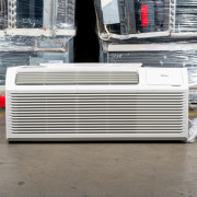 "PTAC Unit - 15k Midea HMB52 Series 42"" 208v Air Conditioner With Integral Heat Pump and 3.5 kW Resistive Heat"