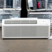 New Midea 12,000 BTU PTAC Air Conditioner - 230 volt - 20 amp - with Digital Controls and Electric Heat - LV