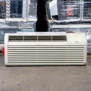 Refurbished A-Grade GE 9,000 BTU PTAC Air Conditioner - 230 volt - 20 amp - with Knob Control and Heat Pump