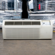 Refurbished A-Grade GE 9,000 BTU PTAC Air Conditioner - 265 volt - 15 amp - with Electronic Control and Resistive Electric Heat