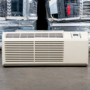 Refurbished A+-Grade Trane 9,000 BTU PTAC Air Conditioner - 265 volt - 20 amp - with Electronic Control and Heat Pump