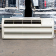 Refurbished A-Grade GE 12,000 BTU PTAC Air Conditioner - 230 volt - 20 amp - with Knob Control and Electric Heat