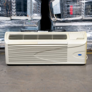 Refurbished A-Grade Carrier 12,000 BTU PTAC Air Conditioner - 230 volt - 20 amp - with Electronic Control and Electric Heat